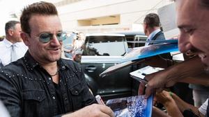 Bono - Donating lyrics to One Love Covid-19 Relief Auction