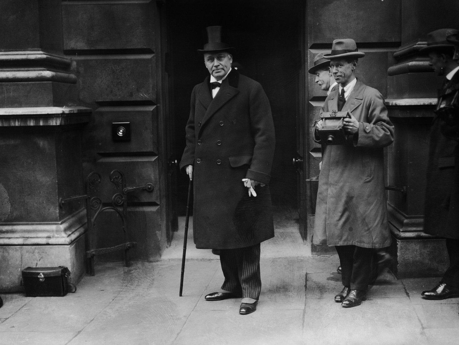Image - Irish secretary Hamar Greenwood, shown here leaving Downing Street in 1922 (Photo by Topical Press Agency/Getty Images)