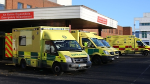 The woman has been taken to Beaumont Hospital in Dublin