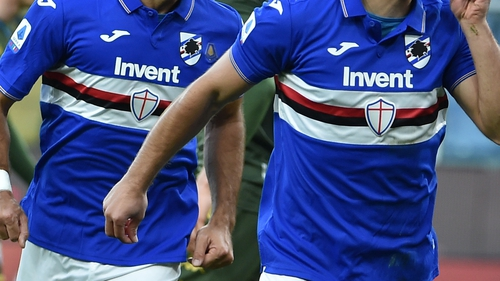 Sampdoria  are set to return to group training next week