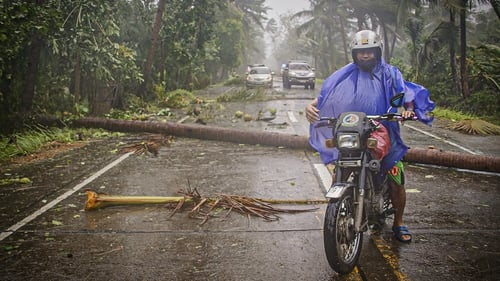 Tens of millions of people live along Vongfong's path