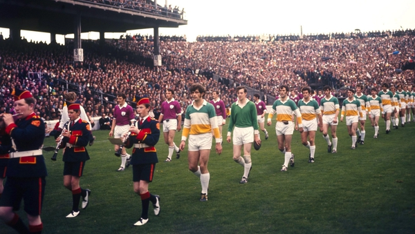 Paddy Fenning was a sub in the 1971 All-Ireland final but started the 1972 finale where Offaly beat Kerry after a replay