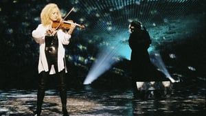 Irish violin player Fionnuala Sherry with winners Secret Garden from Norway in 1995