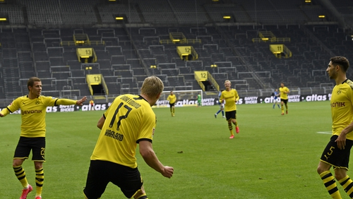 An average of 500,000 watched Borussia Dortmund's match with Schalke in the UK