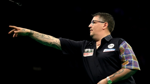 Gary Anderson: 'It still feels strange, you're still looking for the boy to walk in front of you to throw his darts'