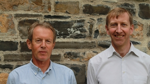 Dr Colin Edwards, Chief Scientific Officer of PatientMpower (l) and Eamonn Costello, CEO of PatientMpower