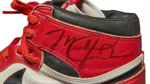 First of their kind: The autographed Air Jordan 1s