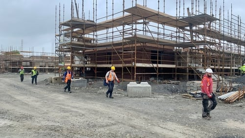 Current construction activity is very much limited due to work practice restrictions as part of Covid-19 health measures