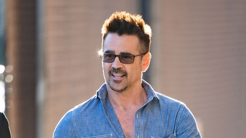 """Colin Farrell: """"There are a couple of tasty scenes I have in it and my creation and I can't wait to get back."""""""