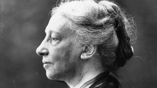 Irish playwright and co-founder of the Abbey Theatre, Lady Gregory. Photo: George C. Beresford/Beresford/Getty Images