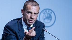 UEFA President Aleksander Ceferin is having sleepless nights