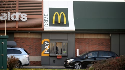 Between Tuesday and Thursday next week, 51 of McDonald's restaurants will reopen for drive-thru services