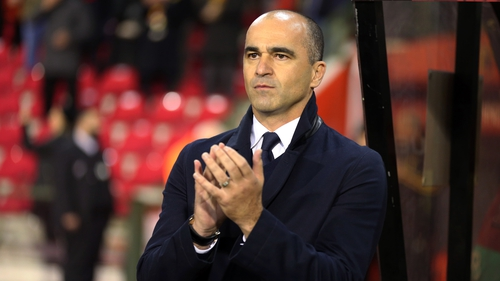 Roberto Martinez led Belgium to third place at the World Cup