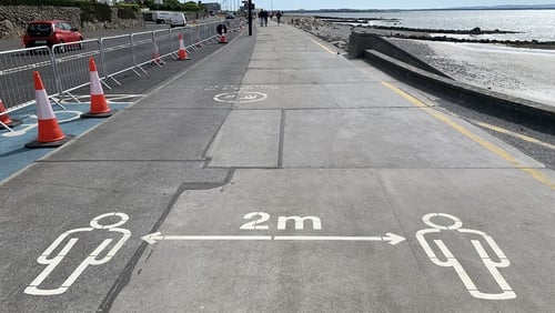 A two-way segregated cycle track along the Salthill promenade will be considered later this month
