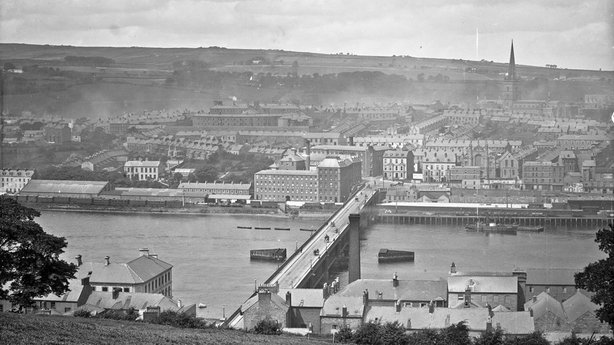 The city of Derry Photo: National Library of Ireland