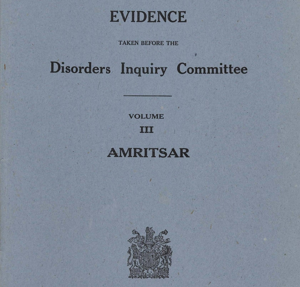 Cover of the report from the Hunter Commission Photo: UK Parliament
