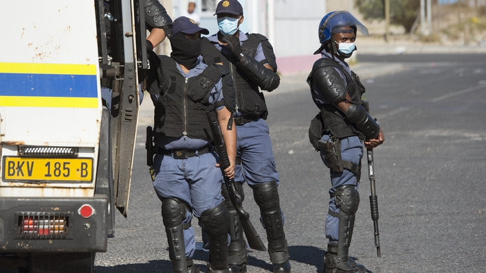 Lockdown in South Africa on The Ryan Tubridy Show