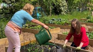 Patricia O'Regan and Jennifer Farrell of 'Grow it Forward Greystones'