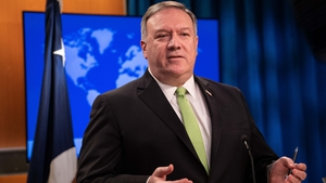 Former secretary of state in the Trump administration Mike Pompeo is among those sanctioned