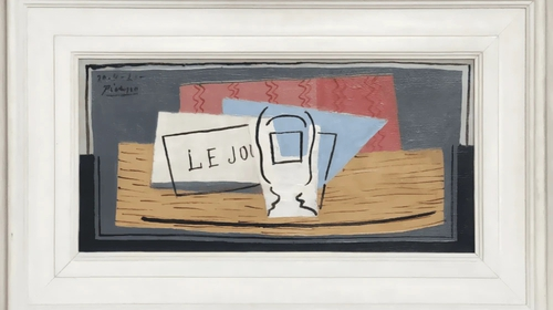 "Picasso's 1921 oil painting ""Nature Morte"" (Still Life) was valued at €1m (Pic: 1 Picasso for 100 euros)"