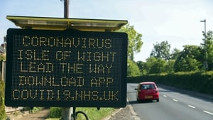 Britain is currently testing the app - based on Bluetooth - on the Isle of Wight