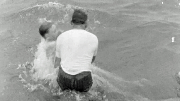 Jehovah's Witness Baptism at Dollymount (1965)