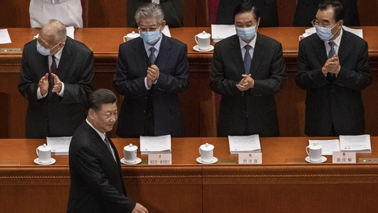 China's parliament meets amid international scrutiny