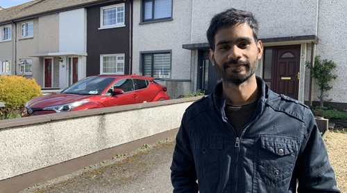 Amit Goswami arrived in Ireland in March