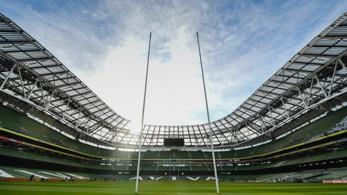 Ireland had been due to host six home rugby internationals in 2020