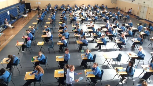 61,000 students had been due to sit their Leaving Certificate exams this year