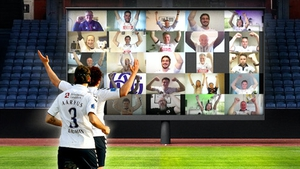 An artist's impression of how the 'virtual crowd' will look (Pic: agf.dk)