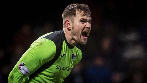 Irish goalkeeper Ryan Scully is one of the players leaving East End Park