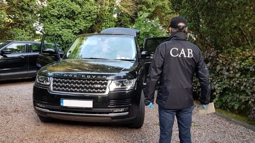 A 131-registered Range Rover was seized along with two Rolex watches, and Breitling ans Longines watches