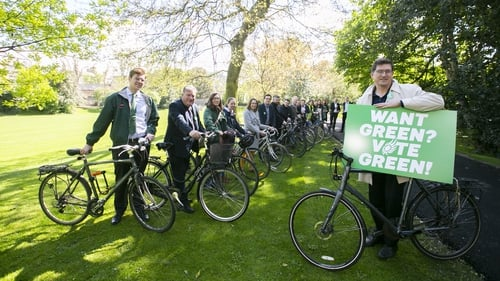 The Green Party launch for the Local Elections in 2019 (RollingNews.ie)