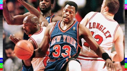 Patrick Ewing is a New York Knicks legend