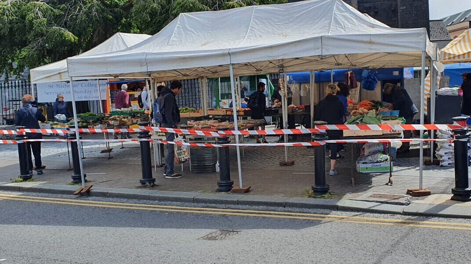 Welcome return to market for Galway traders
