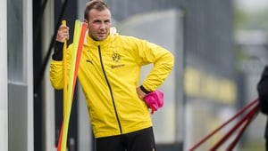 Gotze is in his second spell with Dortmund after a three-year stint at Bundesliga rivals Bayern Munich