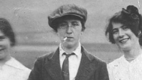 "Margaret Skinnider: ""she had travelled to Ireland to join the struggle on the basis that it promised equal status for women under the new Republican proclamation"""
