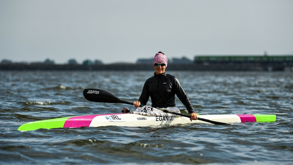 Jenny Egan is hoping to join Liam Jegou in qualifying for the canoe-kayak events in Tokyo