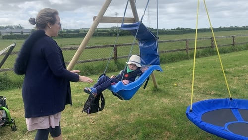 Aisling McNiffe says with Covid-19 it is impossible to know when it will be safe for her son Jack to return to the classroom