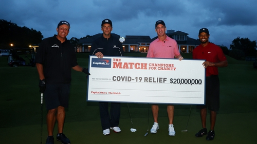 $20m was raised for charity by the match