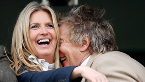 Rod and wife Penny Lancaster: anyone for dinner at the Ritz?