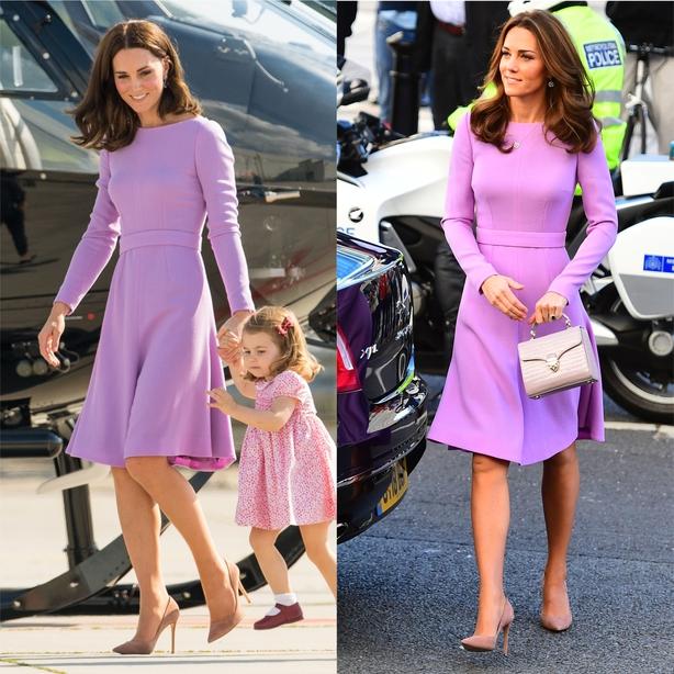 Kate Middleton lilac dress