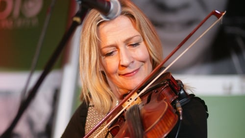 Altan's Mairéad Ní Mhaonaigh was one of the many artists performing in the #IrelandPerforms series