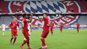 Bayern Munich and Borussia Dortmund clash on Tuesday