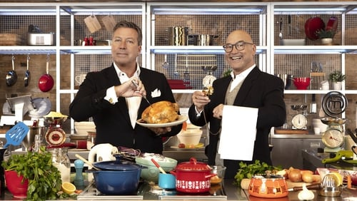 Celebrity MasterChef judges John Torode and Greg Wallace