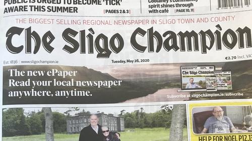 Sligo Champion is one of Ireland's oldest provincial newspapers