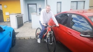 Stevo Timothy is back on a bicycle for the first time in years