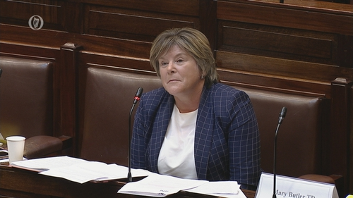 Mary Butler thanked those who have done 'phenomenal work' to keep mental health services operational during the pandemic