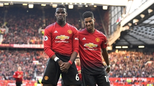 Marcus Rashford and Paul Pogba are set to return for Manchester United